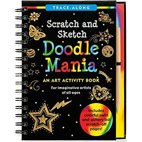 Doodle Mania Scratch & Sketch (Art, Activity Kit) (Trace-Along Scratch and Sketch) by Peter Pauper Press (2014-10-01)