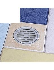 HCP baño de ducha de baño de suelo sumidero de/de acero inoxidable cocina Balcón y olor/redondas Tierra leckage de B