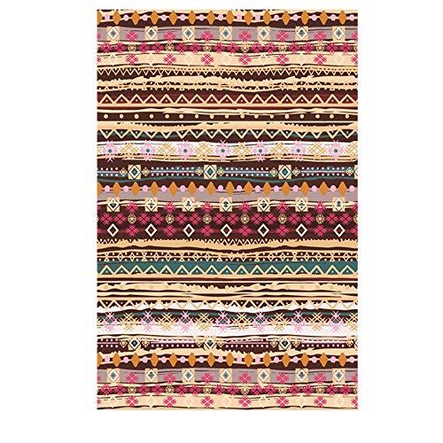 Tsds tappeti moderni etnici del tappeto del tappeto etnico salone tappetino antiscivolo tappetino da comodino tappetino da caffè (color : d, size : 80 * 120cm/31.49 * 47.24in)