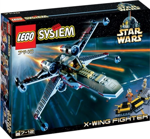 LEGO 7140 Star Wars X-Wing Fighter - 1999 Lego Wars Star Sets