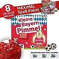 Münchner Kleine Pimmel | Gemein Leckere Fruchtgummi für FCB-Fans, inklusive Messlatte zum Lachen & Vergleichen | Frauen & Fans Aufgepasst,Besser ALS Männer-Socken Strümpfe Shorts, Unterhosen