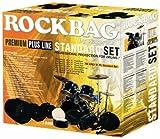 RB 22921 B Standard Premium Schlagzeugtaschenset Drum Flat Pack (schwarz)