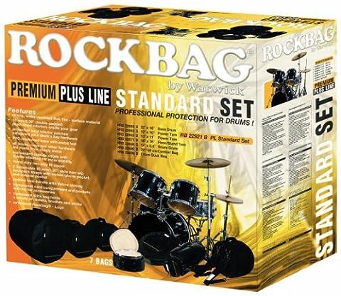 RB 22921 B Standard Premium Schlagzeugtaschenset Drum Flat Pack (schwarz) (Cymbal Stand Pack)
