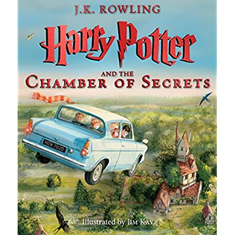 Harry Potter & Chamber Of Secrets Llustrated HC Ed (Harry Potter Illustrated Editions)