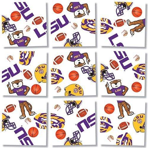 State University Square (b. dazzle Louisiana State University Tigers Scramble Squares Puzzle by B.Dazzle)