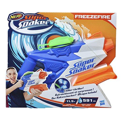 (Hasbro Super Soaker B8249EU4 - FreezeFire 2.0, Wasserpistole)