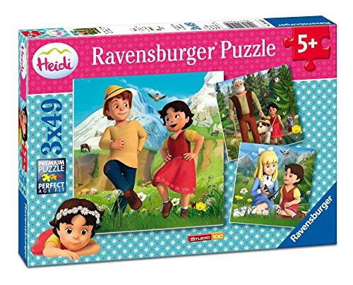 Ravensburger Heidi Pack 3 Puzzles