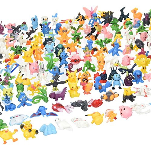 24pcs Pokemon mignon Mini figure 2-3cm Rendom jouets Monster Mini Action Figure parti sac Filler by New Celebration ltd