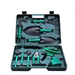 Fansport 10PCS Mini Garden Tools Succulent Transplanting Tools for Indoor Plants Care