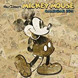 2011 Mickey Mouse Retro Grid Calendar (Square Wall Cal)