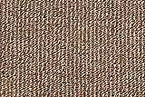Teppichboden Schlingentextur Kurzflor Auslegware Bodenbelag hellbraun 500 x 400 cm. Weitere Farben und Größen verfügbar