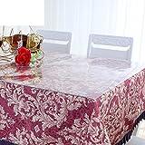HAKLLASDFNFDES Pvc,Nappe Transparente/Soft Glass,étanche,Tissu De Table Anti-oil/Napperon En Plastique/Pad De Table Basse De Plaque De Cristal