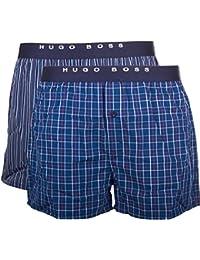 BOSS Hugo Boss Woven Boxer Ew  - Boxer - Homme, Lot de 2