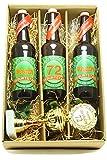 Bier Geschenk Präsentkarton mit Bier und Pokal 72. Geburtstag
