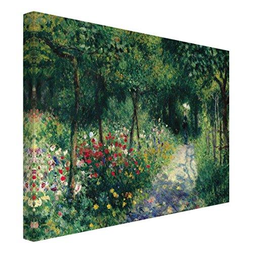 Bilderwelten Leinwandbild - Auguste Renoir - Frauen im Garten - Quer 3:4, 75cm x 100cm