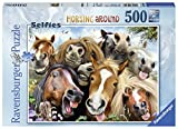 Ravensburger Erwachsenenpuzzle 14763 Pferde Selfie, Puzzle