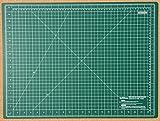 Quiltlines. Alfombrilla de corte, de doble cara, con 5capas, en sistema imperial y métrico. Tamaño A2,24x 18pulgadas (45x 60 cm).