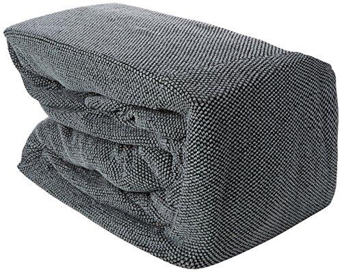 Eiffel Textile Le Havre Chaise Longue Schutzhülle Sofa Langen Arm rechts 280 x 195 x 2 cm grau -
