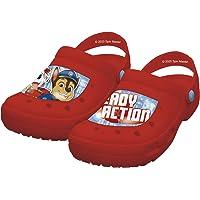 Paw Patrol Boys Slip On Clogs Flip Flops Lightweight Garden Pool Beach Holiday Sandals, Chase & Marshall Design, Gift…