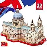 CubicFun 3D-Puzzle Saint Paul's-Kathedrale - St Paul's Cathedral, London, UK 107-tlg