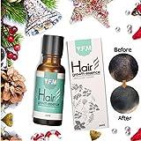 Hair Growth Essence, Y.F.M. Olio per Capelli Liquido per Crescita dei Capelli Olio per Anti-caduta Capelli Trattamento di Perdita di Capelli per Uomini Donne 20ml