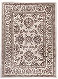 Traditioneller Klassischer Teppich für Ihre Wohnzimmer - Beige Creme - Perser Orientalisches Muster - Ferahan-Ziegler Ornamente - Top Qualität Pflegeleicht