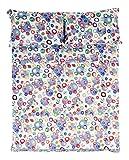 Desigual Blue Summer Lenzuola matrimoniali Piane + 2 Federe di Guanciale, 240 x 280 x 5 cm, Turquesa (Blu)