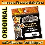 LARSSON ® | Swedish Amber Bernsteinkette 45 cm für Hunde – Natürlicher Zeckenschutz - 4