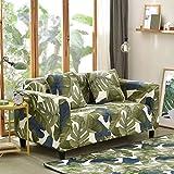 HM&DX Elastisch Polyester Sofa abdeckung Schutzhüllen,1-stück Floral All-inclusive- Sofaschonbezug Sofa throw Für Wohnzimmer 1 2 3 4 Sitzer Couch-B Loveseats