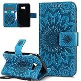 HMTECH Galaxy A5 Slim Housse Case Étui de Protection Porte-cartes en PU Cuir Housse...