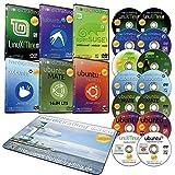Der große Linux-Osterkorb: 14 DVDs in DVD-Hüllen incl. Mousepad