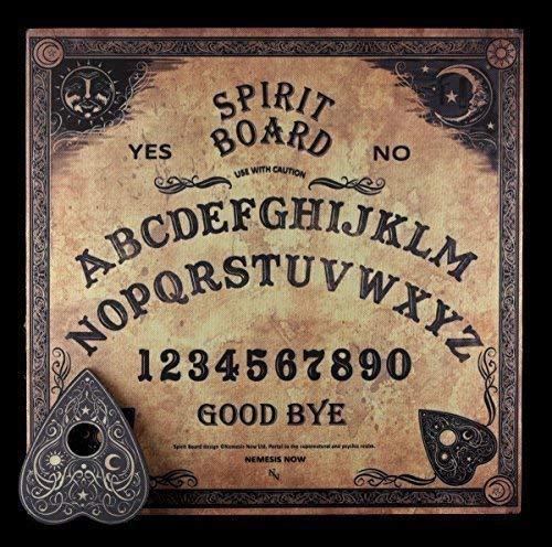 Wahrsagerbrett - Traditionelles Design | Witchboard Quijabrett Hexenbrett Quija Spirit Board (Ouija-brett)