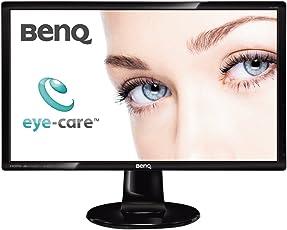BenQ GL2460HM 60,9 cm (24 Zoll) Monitor (DVI, HDMI, 2ms Reaktionszeit) schwarz