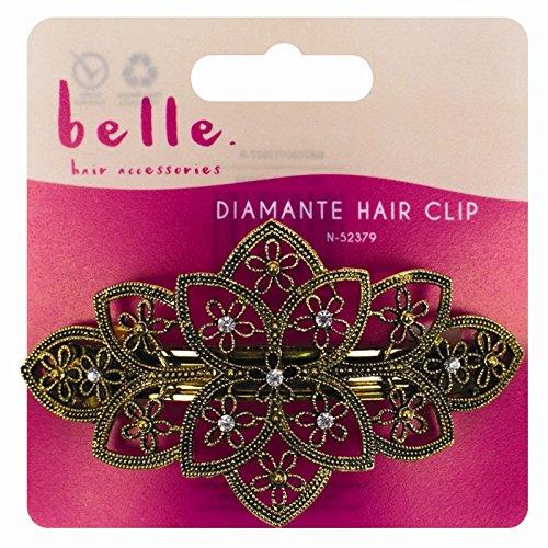 Belle or et bronze Pince à cheveux