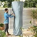 VonHaus Waterproof Garden Furniture Cover - Slate Grey