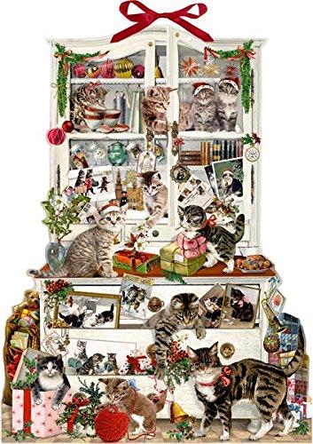 Katzen im Advent Zettelkalender