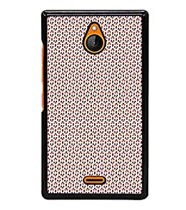 Colourful Pattern 2D Hard Polycarbonate Designer Back Case Cover for Nokia X2 Dual SIM :: Nokia X2 RM-1013 :: Nokia X2DS