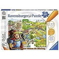 Ravensburger-00516-tiptoi-Puzzeln-Entdecken-Erleben-Die-Ritterburg Ravensburger 00516 – tiptoi Puzzeln, Entdecken, Erleben: Die Ritterburg -