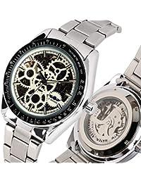 1a21fa804237 JLYSHOP - Reloj mecánico automático para Hombre