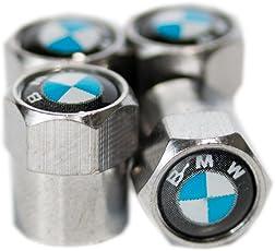 BMW Metall Chrom Ventil Staub Reifen Gap