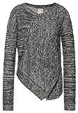 Khujo Yaki Women Strick Pullover Sweater Knit (S, prist melange)