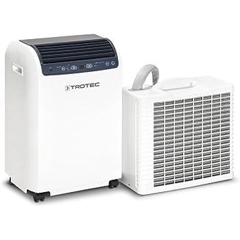 TROTEC Lokales mobiles Split Klimagerät Klimaanlage PAC 4600 mit 4,3 kW / 14.500 btu - bauartbedingt bis zu 50% mehr Kühlleistung