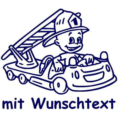 Babyaufkleber mit Name/Wunschtext - Motiv 735 (16 cm) - 20 Farben und 11 Schriftarten wählbar
