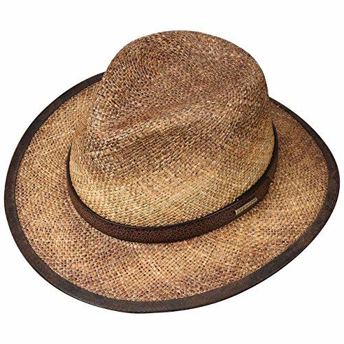 Chapeau Rodeo Seagrass Stetson chapeau d´ete chapeau plage Marron