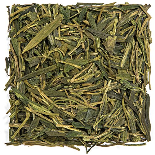 Tealyra - Premium Dragon Well - Long Jing - Green Tea - Best Chinese Loose Leaf Tea - First Grade - 100-gram