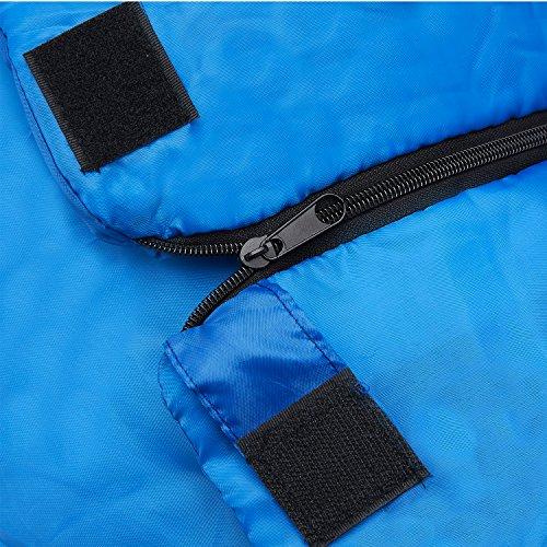 61XJ9T7XU3L. SS500  - Premium 200 Warm Lightweight Envelope Sleeping Bag - For Traveling, Camping, Hiking, Indoor & Outdoor Activities