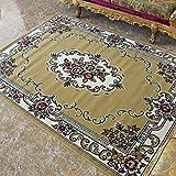 Área Tinksky Rugs Ethnic estilo persa limpiador de moqueta con aroma para sala de estar