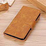 BELLA BEAR Case for LG Q60,Leather Wallet Holster Purse