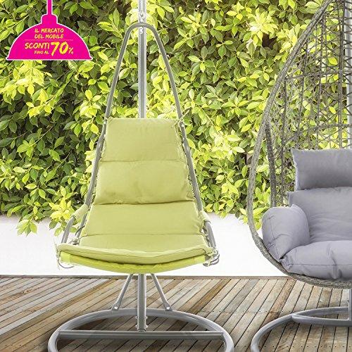 Dondolo con seduta di kasanova su amazon per casa o giardino - Amazon dondolo da giardino ...