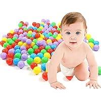 Plastic Balls for Kids Pack of 50 Balls Non Toxic Balls for Kids Multi Color